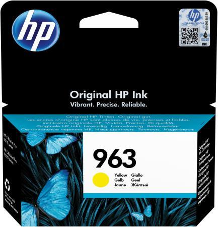Фото - Картридж струйный HP 963 3JA25AE желтый (700стр.) для HP OfficeJet Pro 901x/902x/HP принтер струйный hp officejet pro 6230 черный [e3e03a]