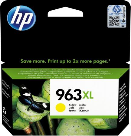 Картридж HP 963XL для HP OfficeJet Pro 9010 OfficeJet Pro 9020 1600 Желтый 3JA29AE a7f64 60001 for hp officejet pro 8610 8620 8630 formatter board
