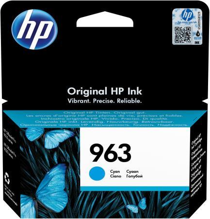 Фото - Картридж струйный HP 963 3JA23AE голубой (700стр.) для HP OfficeJet Pro 901x/902x/HP картридж 963 струйный желтый 700 стр 3ja25ae