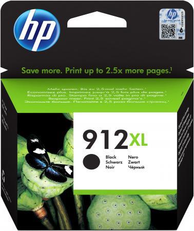 Фото - Картридж струйный HP 912XL 3YL84AE черный (825стр.) для HP OfficeJet 801x/802x картридж струйный hp 728 f9k17a голубой 300мл для hp dj t730 t830