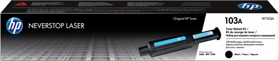 Фото - Тонер Картридж HP 103 W1103A черный (2500стр.) для HP Neverstop Laser тонер картридж hp 203x cf542x желтый 2500стр для hp m254 280 281