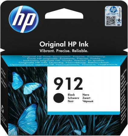 Фото - Картридж струйный HP 912 3YL80AE черный (300стр.) для HP DJ IA OfficeJet 801x/802x картридж струйный hp 728 f9j68a черный матовый 300мл для hp dj t730 t830