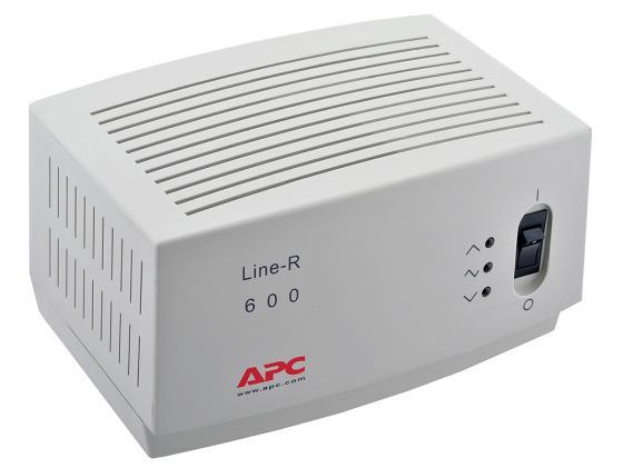 Стабилизатор напряжения APC Line-R LE600I 4 розетки 2 м белый apc line r 1200va
