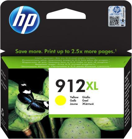 Фото - Картридж струйный HP 912 3YL83AE желтый (825стр.) для HP DJ IA картридж струйный hp 728 f9k15a желтый 300мл для hp dj t730 t830