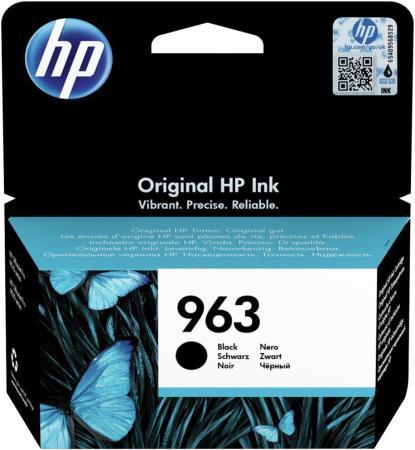 Фото - Картридж струйный HP 963 3JA26AE черный (1000стр.) для HP OfficeJet Pro 901x/902x/HP картридж 963 струйный желтый 700 стр 3ja25ae