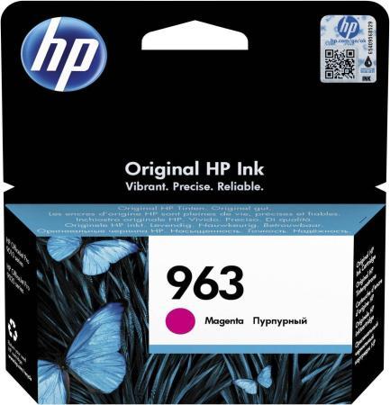 Фото - Картридж струйный HP 963 3JA24AE пурпурный (700стр.) для HP OfficeJet Pro 901x/902x/HP картридж струйный hp 912 3yl78ae пурпурный 315стр для hp officejet 801x 802x