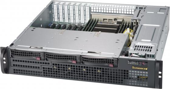 лучшая цена Корпус SuperMicro CSE-825MBTQC-R802LPB 2x800W черный
