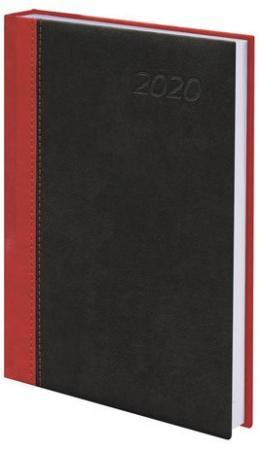 Ежедневник датированный BRAUBERG Prestige A5 под комбинированную кожу