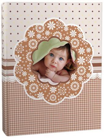 Фотоальбом BRAUBERG на 100+4 фотографии 10х15 см, твердая обложка,