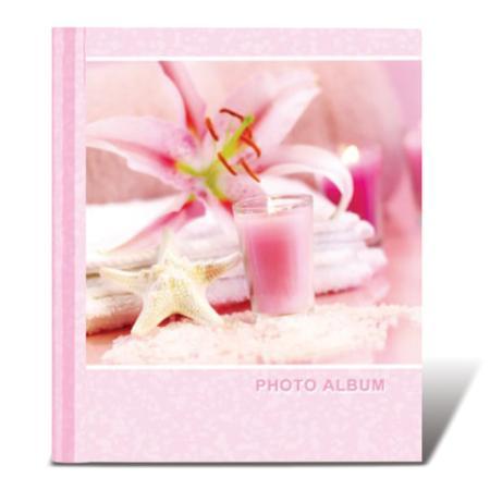 """Фотоальбом BRAUBERG на 10 магнитных листов, 23х28 см, """"На память"""", розовый, 390682 фотоальбом image art sp21 в013 10 магнитных листов c0040407"""