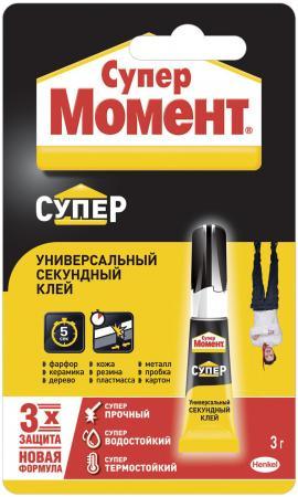 Клей моментальный Момент 874569 3 гр. клей постоянной липкости help 135 г