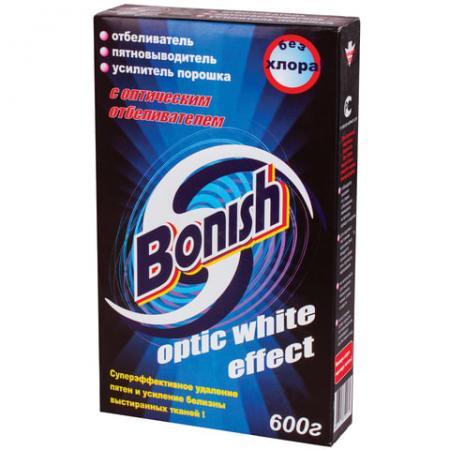 Средство для удаления пятен BONISH Optic white effect 600г