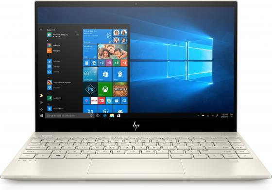 """Ноутбук HP Envy 13-aq0003ur (6PS50EA) Core i5 8265U (1.6) / 8Gb / 256Gb SSD / 13.3"""" FHD IPS / UHD Graphics 620 / Win 10 Home / Pale gold цена и фото"""