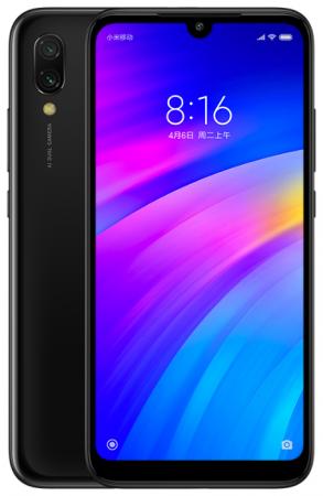 Смартфон Xiaomi Redmi 7 черный 6.26 32 Гб GPS Wi-Fi 3G Bluetooth 22760 смартфон