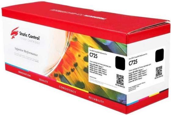 Фото - Тонер Картридж Static Control 002-04-SRG725 C725 черный (1600стр.) для Canon i-Sensys 6000/6000b картридж canon 725 для lbp6000 6000b 1600 стр