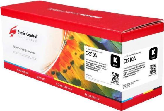 Фото - Тонер Картридж Static Control 002-01-LF210A CF210A черный (1600стр.) для HP LJ Pro 200 M251/M276 смягчающий бальзам a derma exomega control 200 мл