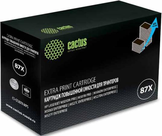 Фото - Тонер Картридж Cactus CS-CF287X-MPS черный (24000стр.) для HP LJ M506dn/M506n/M506x маникюрный и педикюрный набор medisana mps