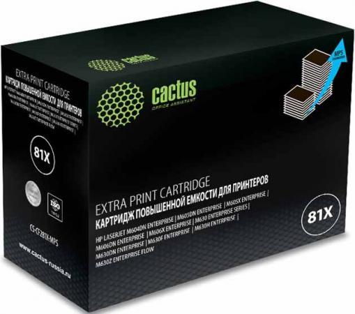 Фото - Тонер Картридж Cactus CS-CF281X-MPS черный (30000стр.) для HP LJ Ent M630/M605dn/M606dn/M605x маникюрный и педикюрный набор medisana mps