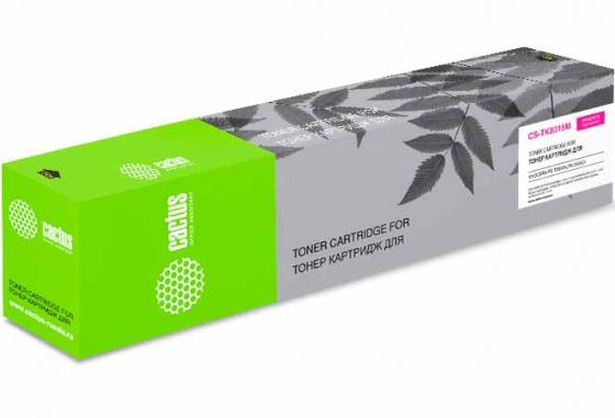 Купить Тонер Картридж Cactus CS-TK8315M пурпурный (6000стр.) для Kyocera FS-Taskalfa-2550CI