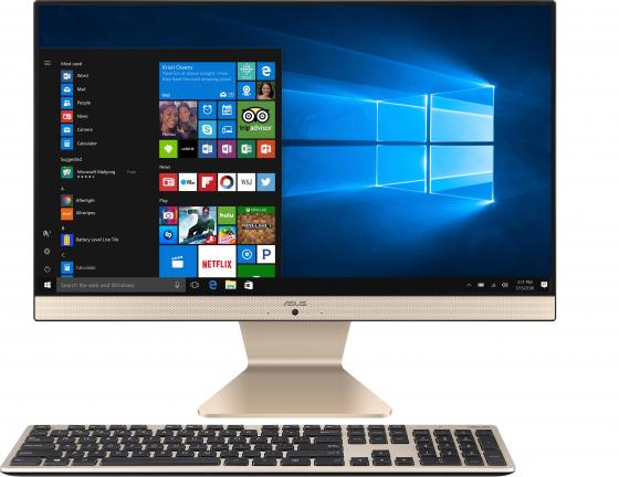 Купить Моноблок Asus V241FAK-BA050T 23.8 Full HD i3 8145U (2.1)/8Gb/1Tb 5.4k/UHDG 620/Windows 10 Home 64/GbitEth/WiFi/BT/клавиатура/мышь/Cam/черный/белый 1920x1080