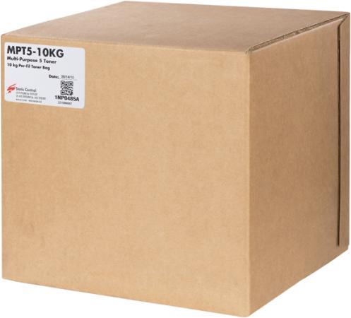 Тонер Static Control MPT5-10KG черный флакон 10000гр. для принтера HP LJ1200/4100/5000 цена и фото
