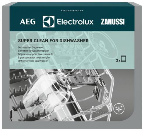 Чистящие средства для бытовой техники Electrolux/ Super Clean для очистки СМ и ПММ от пищевого жира