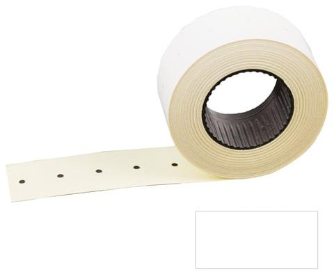 Этикет-лента 26х16 мм, прямоугольная, белая, комплект 100 рулонов по 800 шт., STAFF, 128456