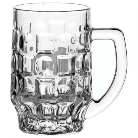 Набор кружек для пива, 2 шт., объем 500 мл, фактурное стекло, Pub, PASABAHCE, 55289 набор кружек для пива гамбург 2шт 500мл стекло