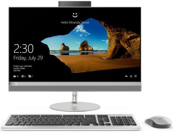 Моноблок Lenovo IdeaCentre 520-24IKU (F0D200FDRK) i5-8250U (1.6)/4G/1T/23.8''FHD/GMA HD/noDVD/WiFi/BT/Win10/SILVER цены