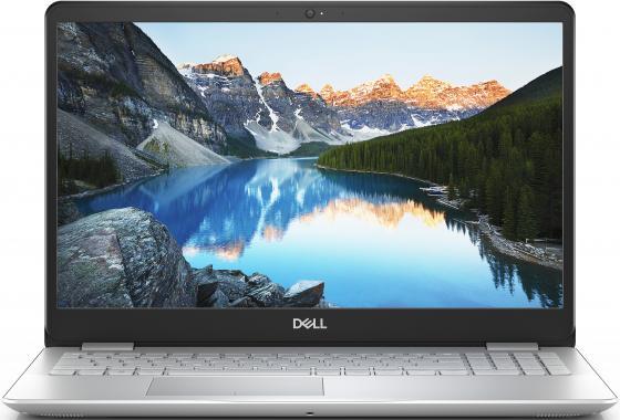 """Ноутбук Dell Inspiron 5584 Core i5 8265U/4Gb/1Tb/nVidia GeForce Mx130 2Gb/15.6""""/FHD (1920x1080)/Windows 10/silver/WiFi/BT/Cam ноутбук dell inspiron 3558 core i3 5015u 4gb 1tb nv 920m 2gb 15 6"""