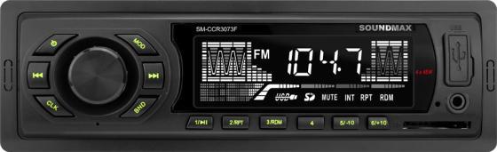 Автомагнитола Soundmax SM-CCR3073F 1DIN 4x45Вт