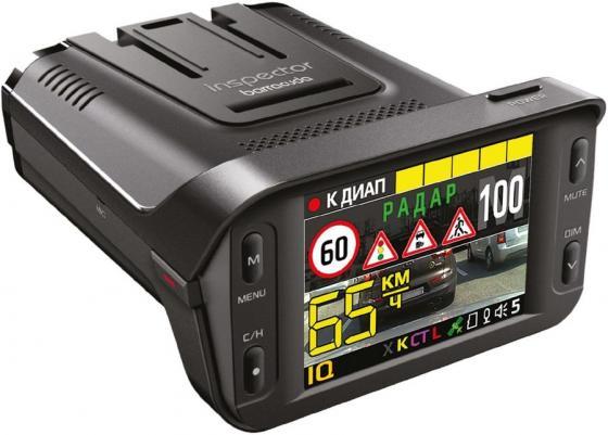Видеорегистратор с радар-детектором Inspector Barracuda GPS ГЛОНАС черный
