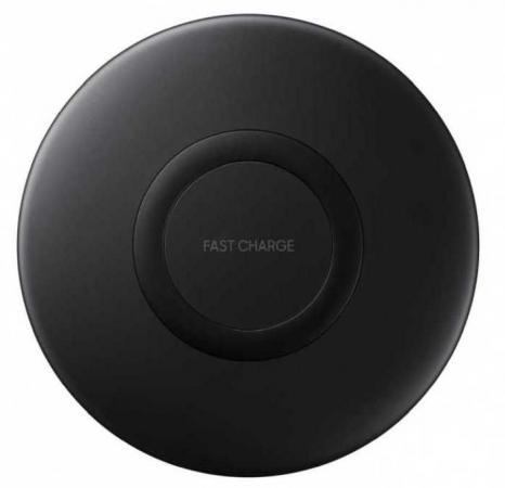 лучшая цена Беспроводное зарядное устройство Samsung EP-P1100 1A USB-C черный EP-P1100BBRGRU