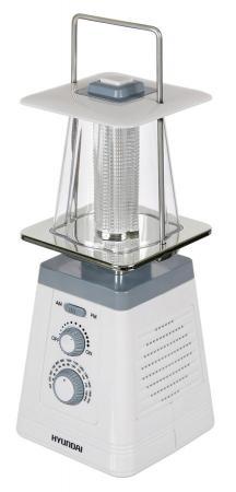 Радиоприемник портативный Hyundai H-RLC150 белый/серый цена и фото