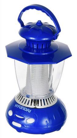 Радиоприемник портативный Hyundai H-RLC120 синий радиоприемник hyundai h rlс120 синий