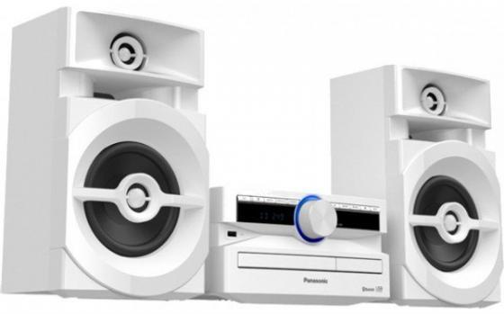 Минисистема Panasonic SC-UX100EE-W белый 300Вт/CD/CDRW/FM/USB/BT минисистема panasonic sc hc19ee w