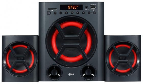 Минисистема LG LK72B черный 40Вт/FM/USB/BT/SD