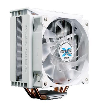 Устройство охлаждения(кулер) Zalman CNPS10X Optima II Soc-FM2+/AM3+/AM4/1150/1151/1155/2011/ 4-pin 17-27dB Al+Cu 180W 740gr LED Ret все цены