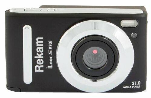 Фотоаппарат Rekam iLook S970i черный 21Mpix 3 720p SDHC/MMC CMOS IS el/Li-Ion