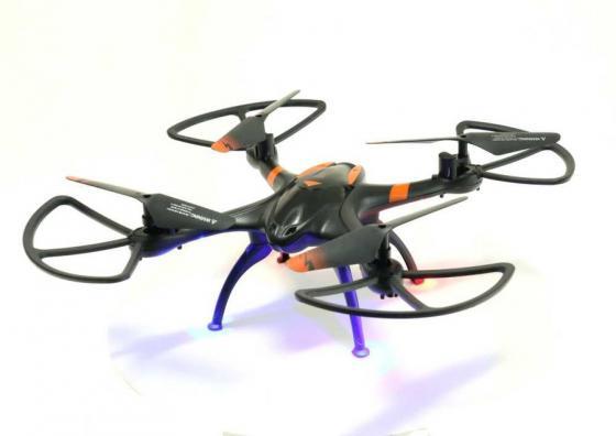 Квадрокоптер Aosenma X-Drone 0.3Mpix avi WiFi ПДУ черный