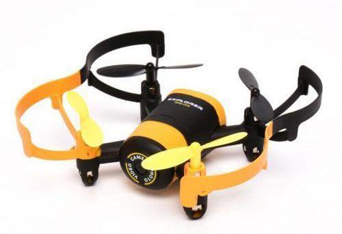 Квадрокоптер JXD Elfin FPV 0.3Mpix avi WiFi ПДУ черный/желтый