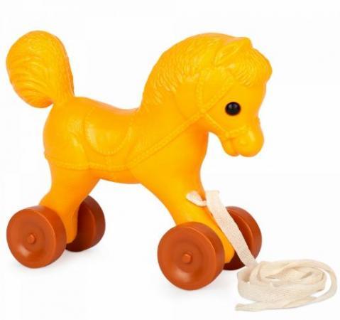 Каталка best toys Лошадка пластик на колесах цвет в ассортименте каталка качалка r toys лошадка трансформер пластик от 1 года на колесах разноцветный