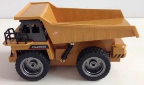 Машина радиоуправляемая Pilotage 6CH Грузовик пластик желтый (RC47808) (от 6 лет)