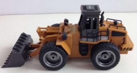 Машина радиоуправляемая Pilotage 6CH Бульдозер пластик желтый (RC47807) (от 6 лет)