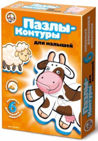 Пазл-контур для малышей Домашние животные, в/к 27,5*20*4 см пазл контур для малышей домашние животные в к 27 5 20 4 см