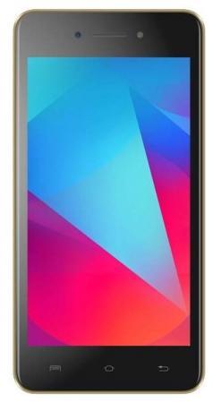 Смартфон Micromax B5 16Gb 1Gb шампань моноблок 3G 4G 2Sim 5.2 720x1280 Android 7.0 5Mpix 802.11bgn GPS GSM900/1800 GSM1900 MP3 FM A-GPS microSD смартфон micromax canvas power 5 b5 16 гб шампань