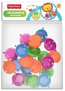 Напольная мозаика Бриллиант Фишер Прайс (20 шт. в пакете)330*230*60 детские игрушки фишер прайс