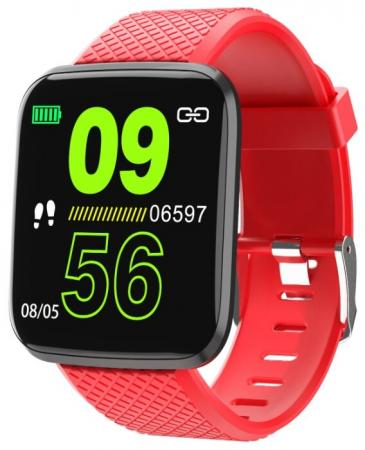 цена на Смарт-часы Smarterra AURA 1.3 TFT красный (FMAUR)