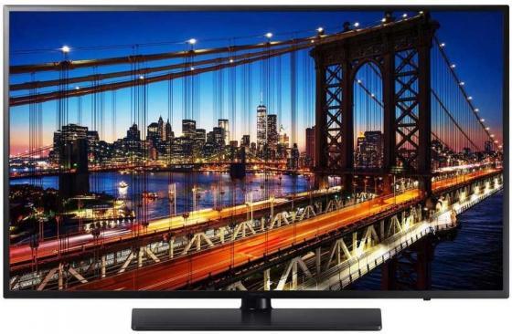 Фото - Панель Samsung 43 HG43EF690 черный LED 16:9 HDMI M/M TV глянцевая Pivot 400cd 178гр/178гр 1920x1080 D-Sub Ultra HD USB 12.7кг (RUS) aксессуар ремешок samsung galaxy fit m orange et su370moegru