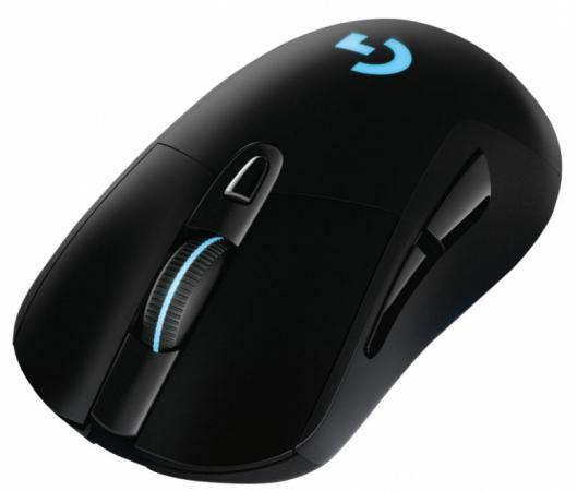 лучшая цена Мышь Logitech G703 LightSpeed (Hero) черный оптическая (16000dpi) беспроводная USB2.0 (6but)